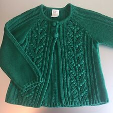 H&M Cable Knit Baby Cardigan Size 9-12 MO