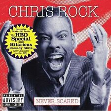 Never Scared (with Bonus DVD) Chris Rock Audio CD