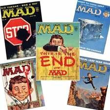 MAD MAGAZINE LOT # 46,47,49,50,53 (1959-60)  Wally Wood, Kelly Freas, Sid Ceasar