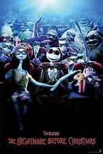 NIGHTMARE BEFORE CHRISTMAS - CHARACTERS MOVIE POSTER - 24x36 - 160359