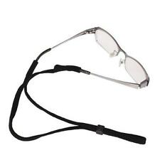 Black Sport Sunglass Neck Strap Eyeglass Read Glasses Cord Lanyard Holder CA