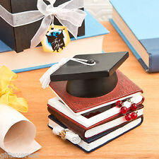 Graduation hat and books trinket box graduation gift party favor