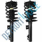 Both (2) Front Complete Strut Assembly Spring Coil & Mounts - Ford Taurus/Sable
