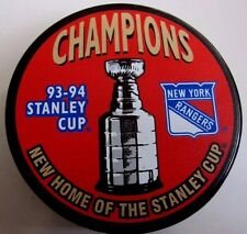 (Lot Of 2) 1994 NEW YORK RANGERS NHL STANLEY CUP CHAMPIONS HOCKEY PUCKS