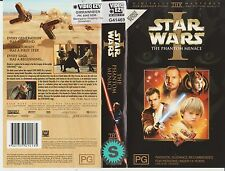 Vhs * Star Wars Episode One - The Phantom Menace * 1999 20th Century Fox Issue