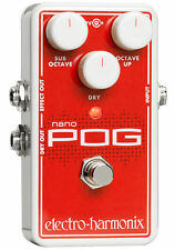 Electro-Harmonix NANO POG with Power Supply! NEW FROM DEALER! FREE 2-3 DAY S&H!!