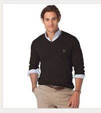 Chaps North Shore Classic-Fit V-Neck Long Sleeve Sweater - Men Clothes Size L