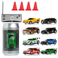Mini Coke Can RC Radio Remote Control Micro Racing Car Vehicle Toy Gift 1Pc
