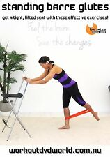 Barre Toning EXERCISE DVD - Barlates Body Blitz STANDING BARRE GLUTES