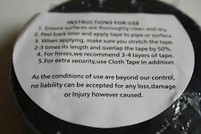 Self Amalgamating Tape rubber waterproof sealing Repair Satellite 5metre