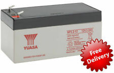 YUASA 12v 3.2Ah (2.8Ah) Sealed Rechargeable Battery Security & Intruder Alarm