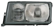 left side headlight for Mercedes W201 190 83-93 HALOGEN H3 H4 diffuser