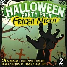 Fright Night Halloween Pack-2 CD Set Fright Night Halloween Pack - 2 CD Set CD