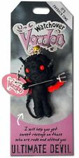 "Watchover VOODOO DOLL Keychain, ULTIMATE DEVIL, It's Payback Time, 3"" Tall"
