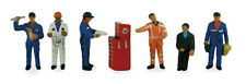 Traction Maintenance Depot Workers Bachmann 36-051 OO painted figures free post
