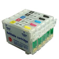 Refillable Ink Cartridge Kit for EPSON T1110 TX515FN T1151BK*2 T1032 T1033 T1034