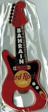 "Hard Rock Cafe BAHRAIN ""RED FENDER"" Guitar Bottle Opener Magnet - RARE -HTF"