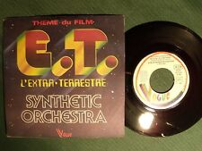 "E.T. L'EXTRA-TERRESTRE, theme du film / SYNTHETIC ORCHESTRA 7"" 45T VOGUE 101703"