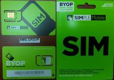 Simple Mobile Prepaid $55 30-day Unlimited Talk, Text, (10 GB OF DATA) - 1 SIM