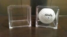 3 Stackable Display Cube Holder Case For Ping Pong Ball Balls