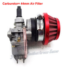Carburetor Carb Carby Air Filter Stack Mini Moto ATV Dirt Pocket Bike 47cc 49cc