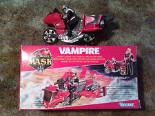 MASK M.A.S.K KENNER VAMPIRE COMPLETE MOTORCYCLE FLOYD MALLOY FIGURE BOXED VENOM