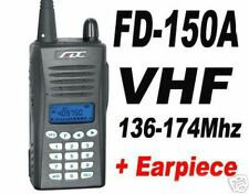 FD-150A VHF 136-174MHz Ham Radio 1x  earpiece FD150A
