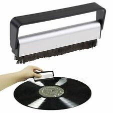 NEW Carbon Fiber Vinyl Record Cleaning Pad Brush Cleaner Antistatic Dust Remover