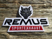 ECUSSON PATCH THERMOCOLLANT aufnaher toppa REMUS tuning sport auto moto rallye