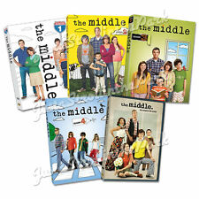 The Middle TV Series Complete Seasons 1 2 3 4 5 DVD Box Sets +Bonus Features NEW