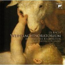 WINDSBACHER KNABENCHOR/BERINGER - WEIHNACHTS-ORATORIUM 1-3  CD CHOR NEU BACH