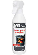 HG Stove Glass Cleaner 500ml Effective on Stoves, Woodburners and even Hearths