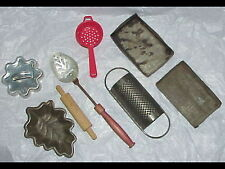 vintage toy Kitchen Tools & Poppin Fresh cookie Cutter