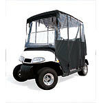 Ez Go Club Car Yamaha Golf Cart Part Deluxe 4-Sided Enclosure BLACK