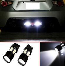 Projector LED Reverse LightBulb T20 7440 7441 7443 7444 for Honda Crosstour 2pcs