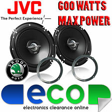 Skoda Octavia upto 01 JVC 17cm 6.5 Inch 600 Watts 2 Way Front Door Car Speakers