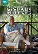 DAVID ATTENBOROUGH 60 YEARS IN THE WILD Complete BBC Earth NEW DVD R4