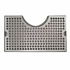 Krome Dispense Tower Cutout Draft Beer Drip Tray Stainless Steel, No Drain, DTT