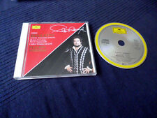 CD Placido Domingo RIGOLETTO Highlights Cappuccilli Cotrubas GIULINI DG DGG