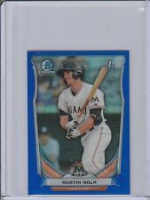 2014 Bowman Chrome Mini Factory Set Blue Refractors #242 Matt Railey 02/20