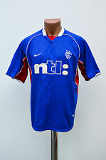 GLASGOW RANGERS SCOTLAND 2000/2001 HOME FOOTBALL SHIRT JERSEY NIKE