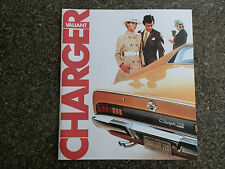 CHRYSLER VALIANT 1971 VH CHARGER RANGE SALES BROCHURE 100% GUARANTEE.
