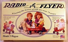 BRAND NEW Doll Radio Flyer Little Red Wagon - Model 5 - MADE IN USA - NEVER OPEN