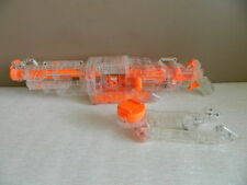 NERF Vulcan EBF-25 Dart Blaster Machine Gun with Stand - Ammunition Belt Missing
