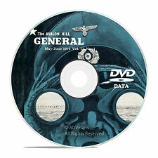 The General Magazine, Avalon Hill, All 200 issues, Bonus, Complete Set DVD V39