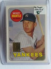 1996 Topps Mantle #19 Mickey Mantle/1969 Topps : New York Yankees