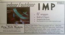 IMP indoor/outdoor, Model Airplane Kit, Rubber, Free Flight, FF83LC, Laser Cut
