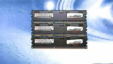 LOT 12GB (3X4GB) Hynix HMT151R7BFR4C-H9 4GB DDR3  PC3-10600R CL9 ECC RDIMM REG