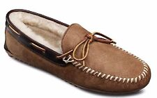 Allen Edmonds Men's Sandman Sheepskin Shearling Slippers Loafers Natural 12