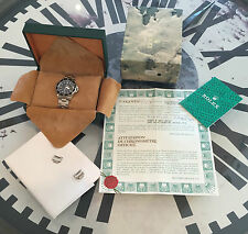 1991 Vintage Rolex 16610 Stainless Steel Submariner Box /Punched Papers /Receipt